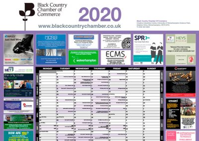 Black Country Wallplanner