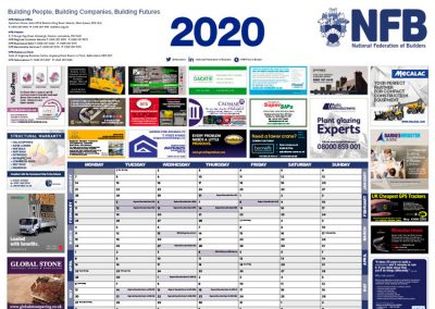 NFB Wallplanner