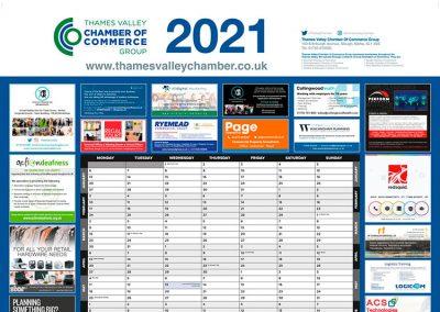 Thames Valley Wallplanner